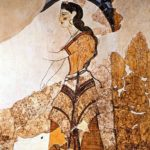 0 Fresco, Akrotiri, Thera, Priestess | Purple: How a Failed Chemistry Lab Experiment Altered 19th Century Class Structure | Writer Mariecor | WriterMariecor.com