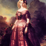 3a Franz Xaver Winterhalter, Princess Maria Carolina of Bourbon, 1846 | Purple: How a Failed Chemistry Lab Experiment Altered 19th Century Class Structure | Writer Mariecor | WriterMariecor.com