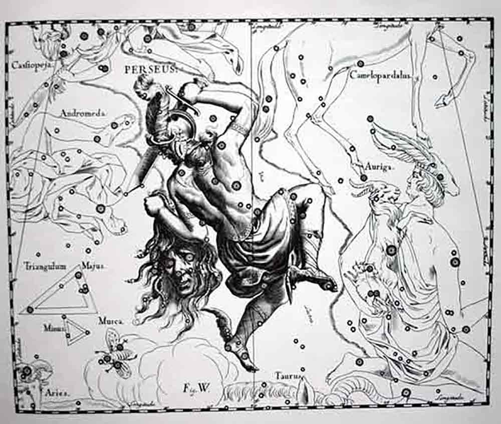 Star-Catalog-Illustration-of-Constellation-Perseus-I-Writer-Mariecor-I-WriterMariecor.com-2