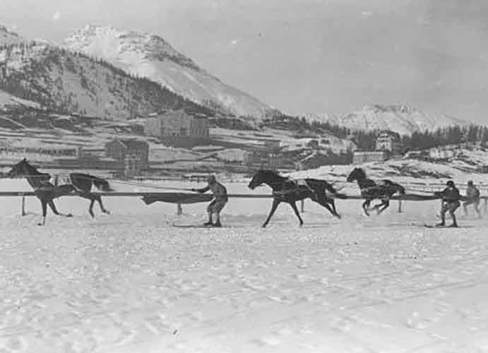 Olympic skijoring in 1928 Switzerland | Writer Mariecor | WriterMariecor.com | Writer Mariecor | WriterMariecor.com
