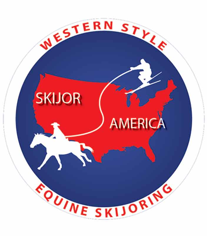 North American Ski Joring Association NASJA Logo | Writer Mariecor | WriterMariecor.com