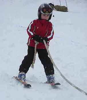 Youth Skijoring | Writer Mariecor | WriterMariecor.com