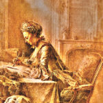 Image is like that of a Professional Ghostwriter -Jacques Andre Portail Painting I Writer Mariecor I WriterMariecor.com